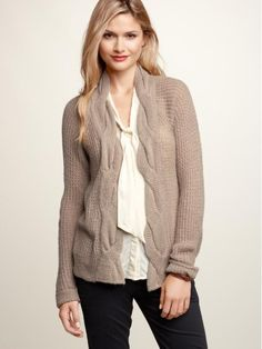 Gap Twisted Cable Knit Sweater $59.95