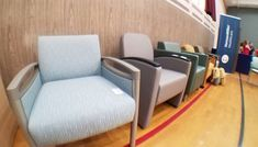 The valor lounge is even more gorgeous in person! Thank you Nemschoff Valor quick ship program! Thank you for sending up samples that are beautiful detailed for safety and create dignified spaces. Western Canada, Herman Miller, Recliner, Health Care, Safety, Lounge, Spaces, Chair