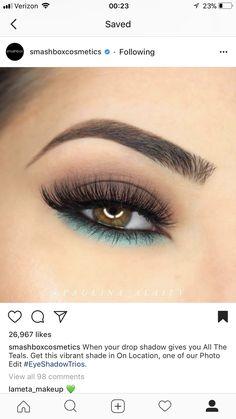 Ich grabe diesen Blick in letzter Zeit - Natural Makeup Paso A Paso Makeup Eye Looks, Makeup For Brown Eyes, Smokey Eye Makeup, Eyeshadow Looks, Pretty Makeup, Love Makeup, Makeup Inspo, Eyeshadow Makeup, Makeup Inspiration