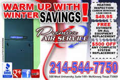 Heating and Air Conditioning Flyer Before you call a AC repair man visit my blog for some tips on how to save thousands in ac repairs. Go here: www.acrepaircarrollton.net/