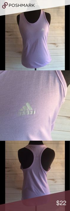 New listing purple Adidas workout top New without tags. Light purple Adidas workout top. 100% polyester. adidas Tops Muscle Tees
