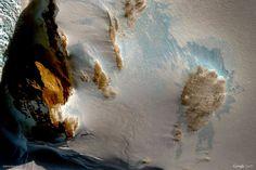 Antarctica, antarctic pattern, Google-Earth-view-1159