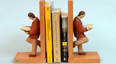 fermalibri fai da te Pallet, Bookends, Diy Home Decor, Diy And Crafts, Sweet Home, Wood, Hobby, Furniture, Ideas