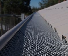 Leaf Free Gutter Guard On Metal Roof Budget Patio