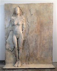 relief sculpture Mujer Pegada Series No. 2 by Manuel Neri Ceramic Sculpture Figurative, Figurative Art, Art Sculpture, Wall Sculptures, Concrete Sculpture, Digital Art Photography, Art Plastique, Art Auction, Medium Art