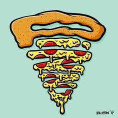 Pizza, by Nozzman - www.nozzman.nl