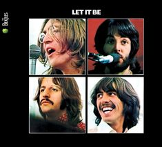 The Beatles - Let It Be. My parents had this album, they were cool and trendy.