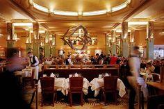 La Brasserie Parisienne: La Coupole on 102 boulevard Montparnasse, 14ème arrondisement.