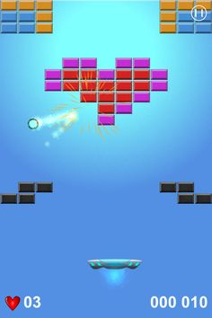 Arcade Brick Breaker - Arkanoid Game for iOS and Android