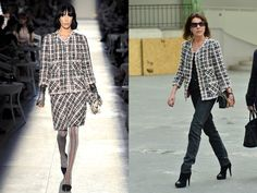 Princess Caroline - 2013 Chanel Fall/Winter 2013/14  Fashion Show, Paris, March 2013. (Fall 2012 Couture).