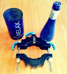 Glass bottle cutter. With all the empty liquor bottles we throw away, this would start a serious craft project