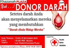 Ayo ikuti Event Donor Darah (| FREE |)  yang akan diadakan pada :  Tanggal : 15…