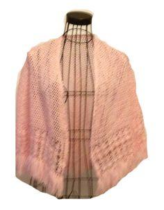 Crochet Cape for Girl Light Pink Open Work by ToppyToppyKnits