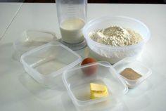 pan-sin-horno-o-muffin-inglés ingredientes
