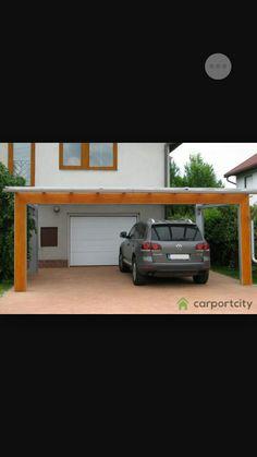 Modern 2 car, carport