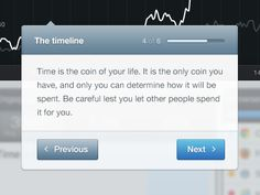 Nice Tooltip design found on Dribbble.