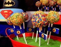 Resultado de imagen para ideas de cumpleaños de superheroes