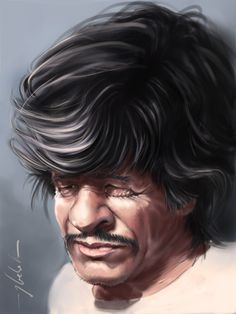 #Caricature: Charles Bronson - http://dunway.com/
