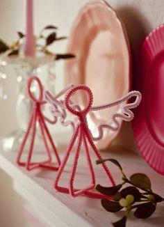 Un'idea speciale per decorare la tua casa a #Pasqua? Gli angioletti #faidate