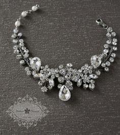 Bitter Sweet Bridal Collection. Bracelet. #bridal #jewellery #elegant #floral
