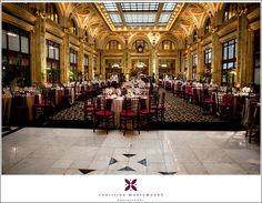 Pittsburgh Wedding Reception Site Spotlight { The Pennsylvanian } | Pittsburgh Wedding Photographer | Christina Montemurro