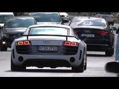 David Alaba Audi R8 GT DA - Bastian Schweinsteiger Audi A8 W12 - FC Bayern Munich Car Auto