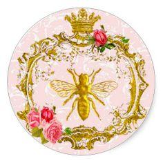 Bee and Crown Royal Seals