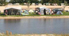 Tienercamping Nederland - Met het hele gezin kamperen aan het water! Camping, Mansions, House Styles, Water, Mansion Houses, Water Water, Villas, Luxury Houses, Outdoor Camping