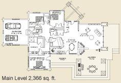 House Plan - Washington Harbor  www.precisioncraft.com