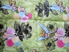 AIO or Regular One Size Cloth Diaper-Tinkerbell by Los Chiquitos by loschiquitos on Etsy