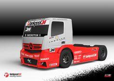 """Aufbruch in eine Neue Saison.  Der """"Neue"""" Mercedes Benz Race Truck für die Saison 2013"""
