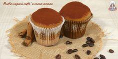 I muffin vegani racchiudono tutta l'intensità e l'aroma del caffè e del cacao amaro. Soffici e profumati... Impossibile resistere! :)