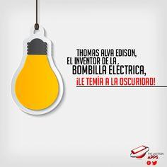 #Thomas #Alva #Edison El inventor de la Bombilla Eléctrica, !Le temía a la oscuridad! ¿Te gustan estas publicaciones?