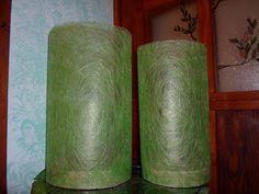 https://www.behance.net/cicciap _Twin lamps on Behance_ #lamp #handmade #craft #faidate