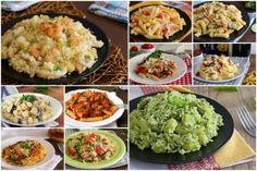 Ricette di primi piatti estivi  raccolta di ricette
