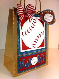 Baseball Gift Bag