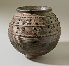 Ancient African Pottery | 475px-453px-Nigeria-pottery-William-Itter-collection.jpg