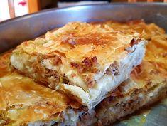 Κιμαδόπιτα με πράσο | H Aπόλαυση Tης Βρώσης Lasagna, Food And Drink, Pizza, Cooking, Ethnic Recipes, Savoury Pies, Pastries, Cakes, Drinks