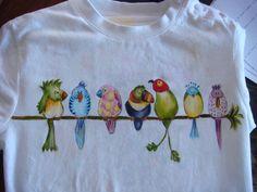 Camisetas pintadas