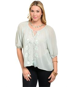 Cute mint top https://www.wholesalefashionsquare.com/product-p/cn173532.htm