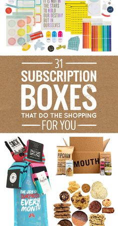 31 Subscription Boxes That Do The Shopping For You