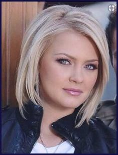 Plus Size Hairstyles Double Chin New 40 Best Short Hairstyles For Round And C Thin Hair Haircuts Short Hair Styles For Round Faces Bob Hairstyles For Fine Hair