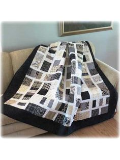 "This enchanting and oh-so-easy quilt pattern is perfect for using up some of your favorite 5"" precut squares. The blocks can be rotated to make a woven design, or lay them straight for a more traditional look. Quick and easy to quilt, you'll lov..."