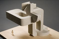 Model of Architectural Sculpture