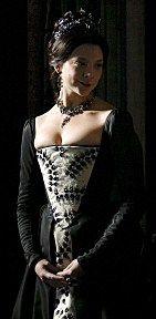 """Anne Boleyn. (The Tudors).  Her """"ghost"""" appearance in the last season."""