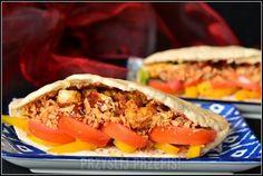Kebab drobiowy Tacos, Pierogi, Mexican, Ethnic Recipes, Drink, Food, Gastronomia, Beverage, Eten