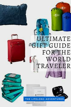 Gift Guide for the World Travelers in our Lives