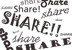 social sharing buttons Image