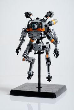 After Ronin , I finished my second Titan from Titanfall 2: Northstar Of all the Titans from Titanfall 2 Northstar is, in my opinion, the most unique looking. This nimble Titan is also the only one who is able to fly, so I depicted it hovering. The most difficult part was probably the eye, but I am really happy with how it turned out. Here is a reference picture reference picture Hope you like it!