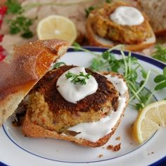 Vegan Crab Cakes With Sweet Mayo